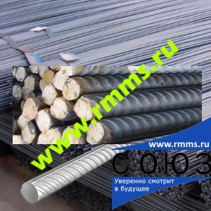 Сталь для армирования - арматура А1 (А240) ГОСТ 5781-82, сталь 3сп